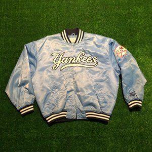 Vintage 80's-90's NY Yankees Starter Puffer